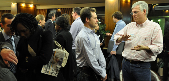 Networking at The London Property Network
